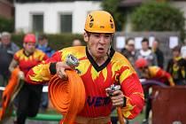 Desátý závod Havlíčkobrodské ligy v požárním útoku na sklopné terče se v sobotu konal v České Bělé.
