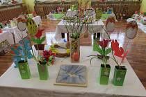 Velikonoční výstava na krucemburské ZŠ.