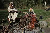 Pálení čarodějnice na Vlkovsku v Havlíčkově Brodě