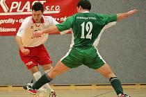 Střelci byli v pohárovém zápase s Brtnicí Filip Valášek a Jan Kaplan (vlevo), kteří skóŕovali v samotném zápase a proměnili i své pokutové kopy.