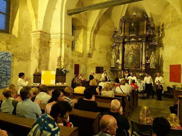 Kostel svaté Kateřiny v posledních letech ožívá různými kulturními akcemi v režii Spolku Epigram.