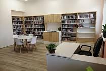 Knihovna v Lučici.