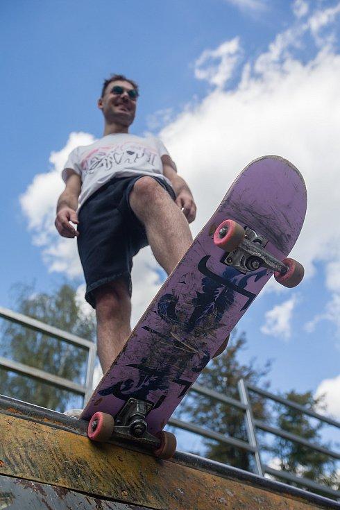 Současný skatepark v Havlíčkově Brodě.