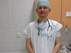 Lékař Jaroslav Chládek .