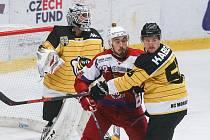 Havlíčkův Brod s Kopřivnicí už podruhé dotáhly zápas až do prodloužení. Tentokrát byli šťatsnější hokejisté Tatry.