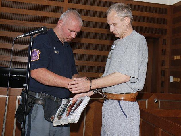 Padesátiletého recidivistu, Pavla Pekára z Vysokého Mýta, obžaloba viní z brutální vraždy šestatřicetileté ženy. Hrozí mu patnáct až dvacet let vězení. Zpovídá se před Krajským soudem v Hradci Králové.