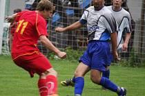 Světelští fotbalisté dokázali ustát závěrečný nápor Přibyslavi a v devíti ubránili těsnou výhru.