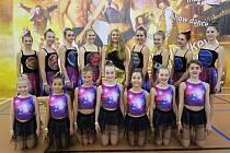 Děvčata z havlíčkobrodské  ZŠ Štáflova si na taneční soutěž do Letovic u Kunštátu. po vynikajícím výkonu vytančila krásné třetí místo.