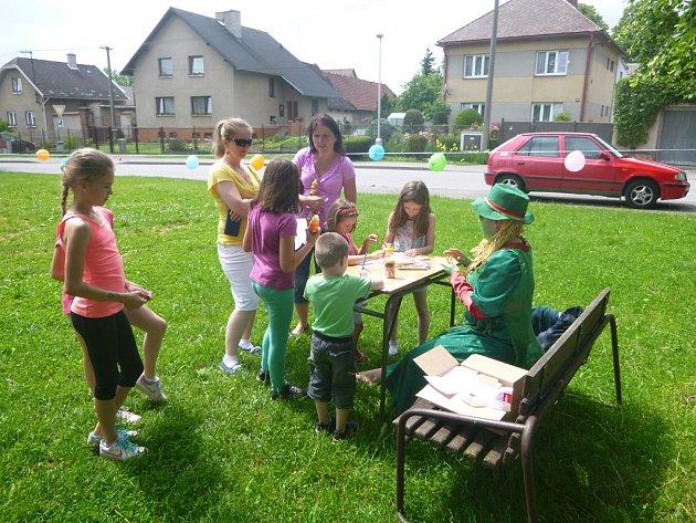 Den dětí v Perknově.