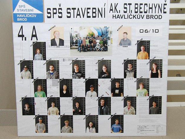 tablo 4.ASPŠ stavební ak. St. Bechyně Havlíčkův Brod