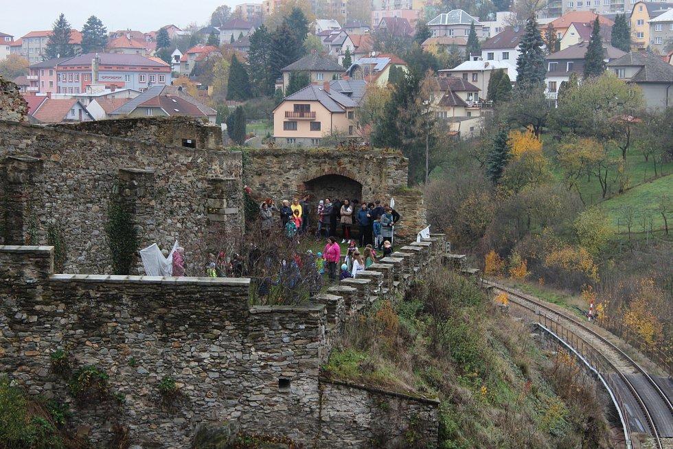 Uspávání strašidel na hradě v Ledči nad Sázavou