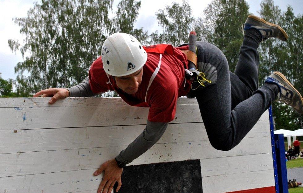 Soutěž profesionálních hasičů v Havlíčkově Brodě.