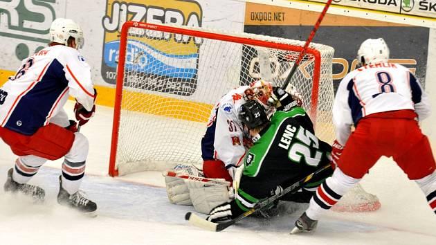 Potvrdili kvalitu. Hráči Mladé Boleslavi přes velkou marodku porazili Rebely i počtvrté v sezoně.