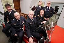Hasiči z Nizozemí obdivovali hasičskou techniku v přibyslavském muzeu.