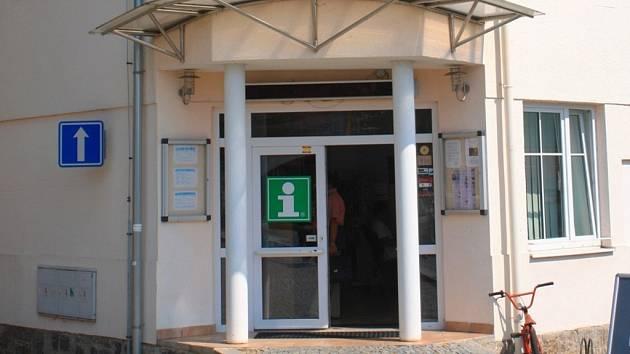 Infocentrum ve Světlé nad Sázavou.