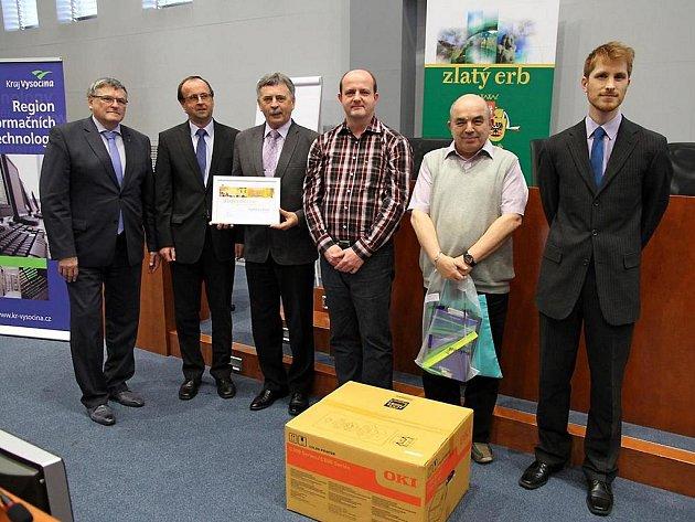Zlatý erb za nejlepší webové stránky města v Kraji Vysočina letos získal Havlíčkův Brod.