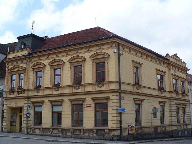 Městská knihovna v Chotěboři.
