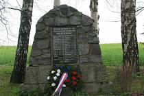 Pomník nedaleko Sobíňova.