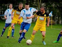 Střeleckou krizi prožili uprostřed sezony fotbalisté Leštiny, ale i přesto byli nejlépe střílejícím týmem soutěže. Na svém kontě mají po podzimu 38 branek.