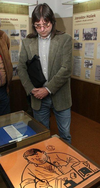 Setkání haškologů na Lipnici.