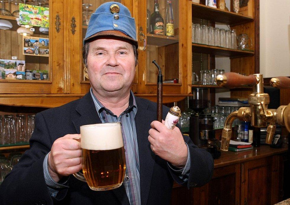 Richard Hašek, vnuk slavného spisovatele.