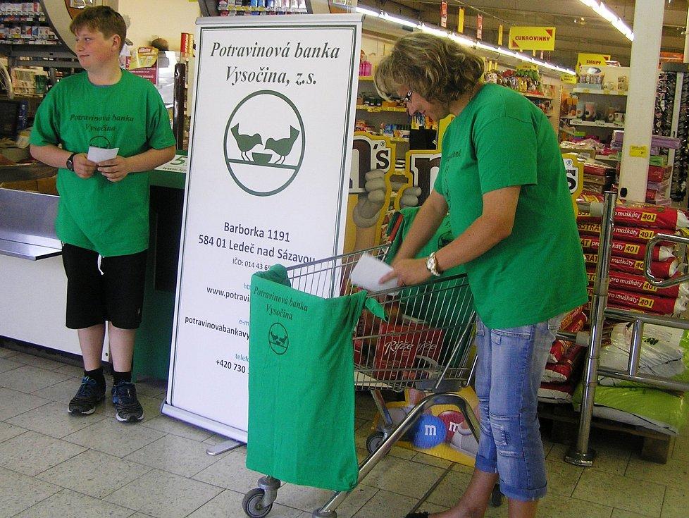 Potravinová banka Vysočiny pořádá různé humanitární sbírky každý rok.