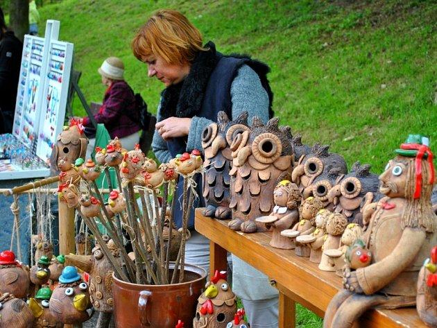 V parku Budoucnost a také v Kotlině se konaly tradiční brodské trhy.