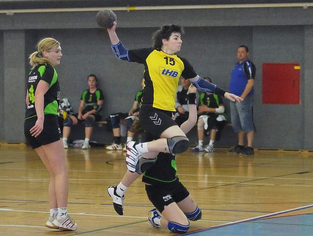 Obraty v utkání se povedly ženám v zápase s Českými Budějovicemi a mladším dorostenkám proti Pardubicím.