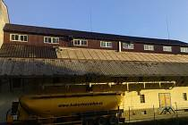 Kukuříčný mlýn v Mrzkovicích.