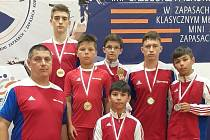 V Polsku brodští zápasníci skončili všichni na bedně