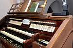 Varhany v kostele sv. Jakuba.