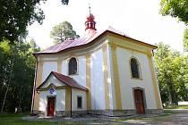 Poutní kostel sv. Anny u Pohledu.
