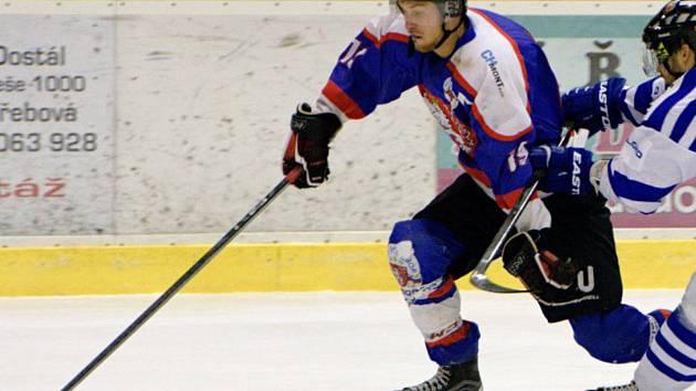 Debakl v úvodním zápase postihl chotěbořské hokejisty s Chrudimí. Už dnes je na programu odveta.