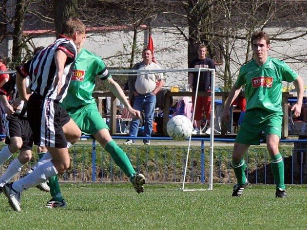 Havlíčkobrodští fotbalisté získali cenné tři body až v nastaveném čase.