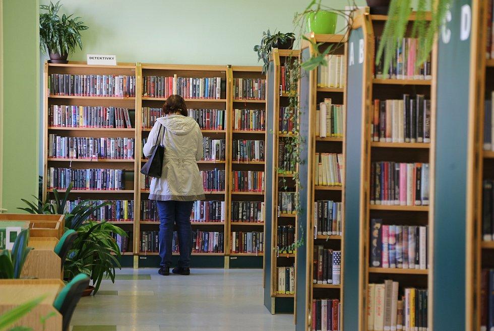 Znovu otevřená Městská knihovna v Pelhřimově.