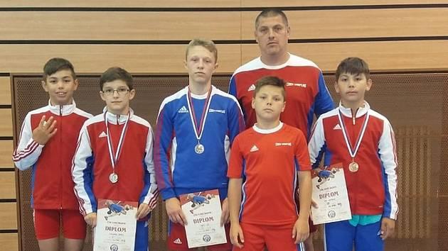 Zápasníci přivezli tři medaile ze Slovenska