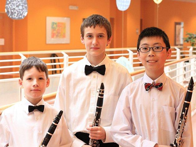 Klarinetové trio.