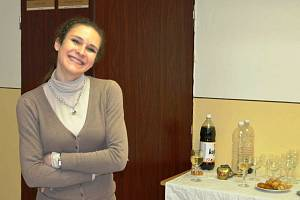 Principálka a herečka havlíčkobrodského Adivadla Markéta Adamová.
