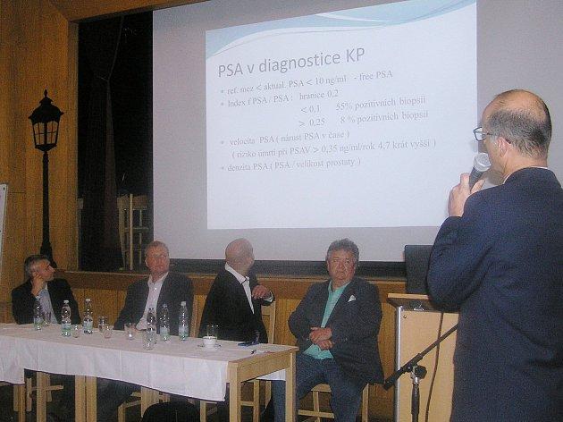 Součástí setkání lékřů u příležitosti výročí založení brodské urlogie byly i odborné semináře.