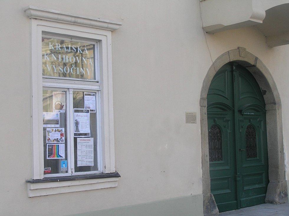 Krajská knihovna Vysočiny.