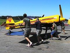 ME v letecké akrobacii je přehlídkou skvělých pilotů i strojů.