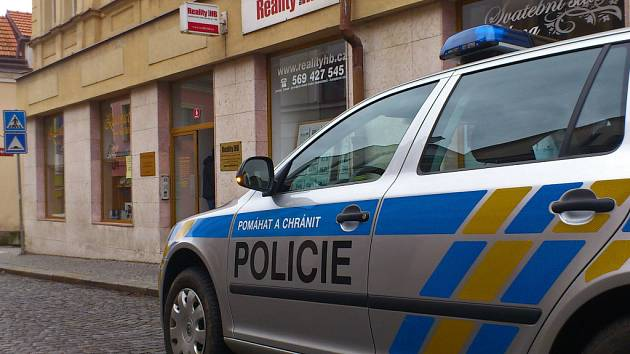 Policie šetří vloupání do Zlatnictví Urban.