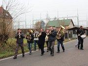 Hned v sobotu 27. ledna se maškary prohnaly Mírovkou u Havlíčkova Brodu.