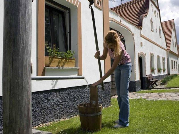 Čerpání vody z podzemních zdrojů je na Vysočině omezené.