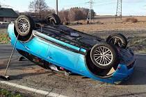Nehoda v Baštínově.