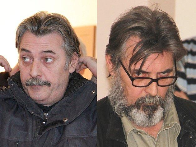 V lednu přišel Luboš Vondrák k soudu s knírem, v květnu už mu kryl tvář plnovous.
