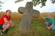 Smírčí kříž v Lučici.
