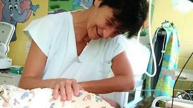 Malý Jirka z babyboxu je nyní v péči lékařů.