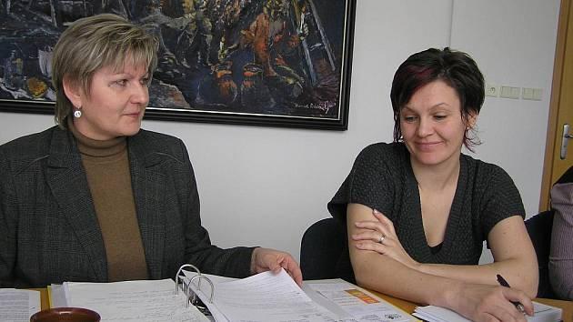 Barmánce budou mít na starosti Jarmila Málková a Ilona Loužecká.