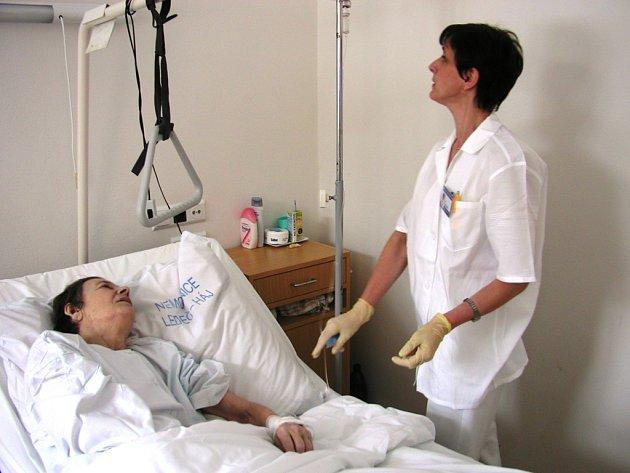 LDN. Zařízení v Háji u Ledče pečuje především o seniory, kteří se bez pomoci druhých neobejdou.